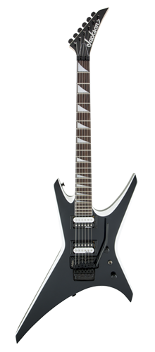 GUITARRA JACKSON WARRIOR JS32 - 291-0146-572 - BLACK W/ WHITE BEVELS